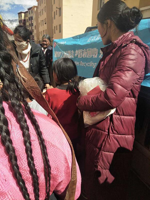青海玉树藏族自治州旧衣服捐赠反馈3
