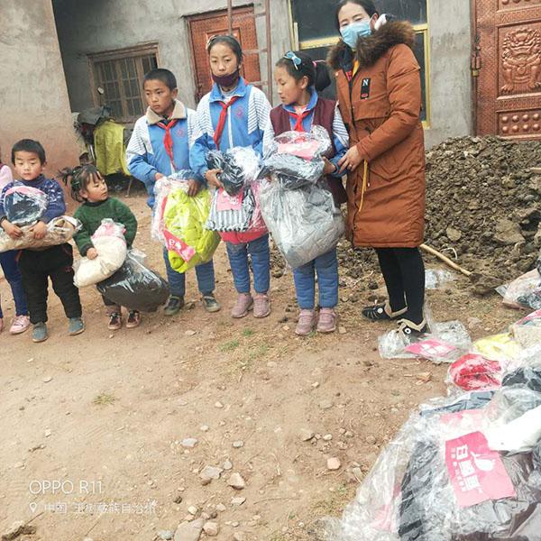 青海玉树藏族自治州旧衣服捐赠反馈4