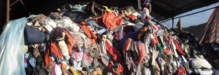 旧衣服被浪费